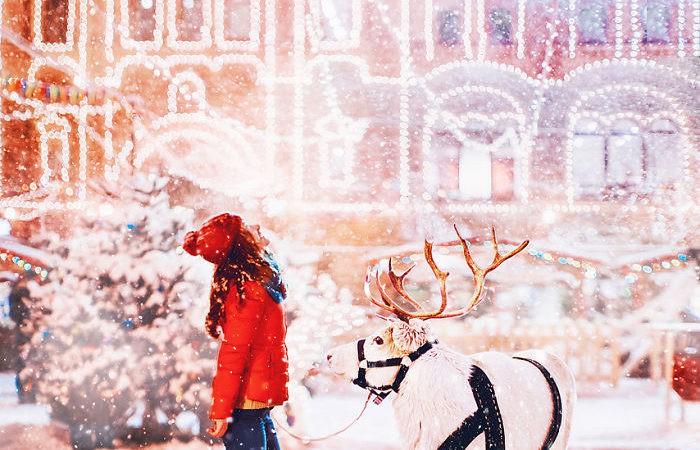 Iarna in Moscova